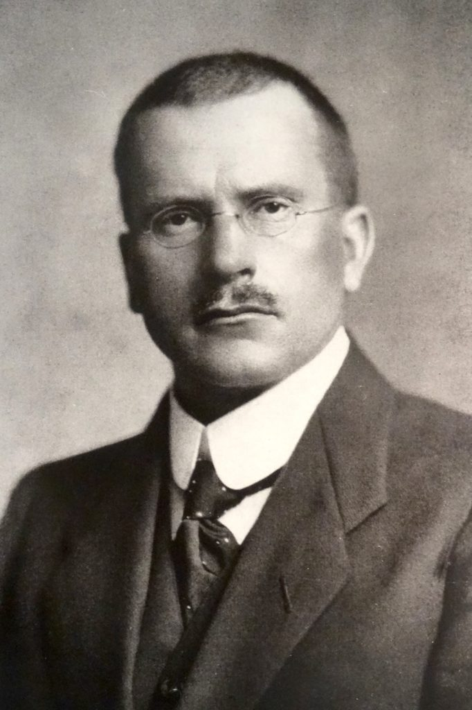 Carl Gustav Jung - By unknown, upload by Adrian Michael (Ortsmuseum Zollikon) [Public domain], via Wikimedia Commons http://commons.wikimedia.org/wiki/File%3ACGJung.jpg