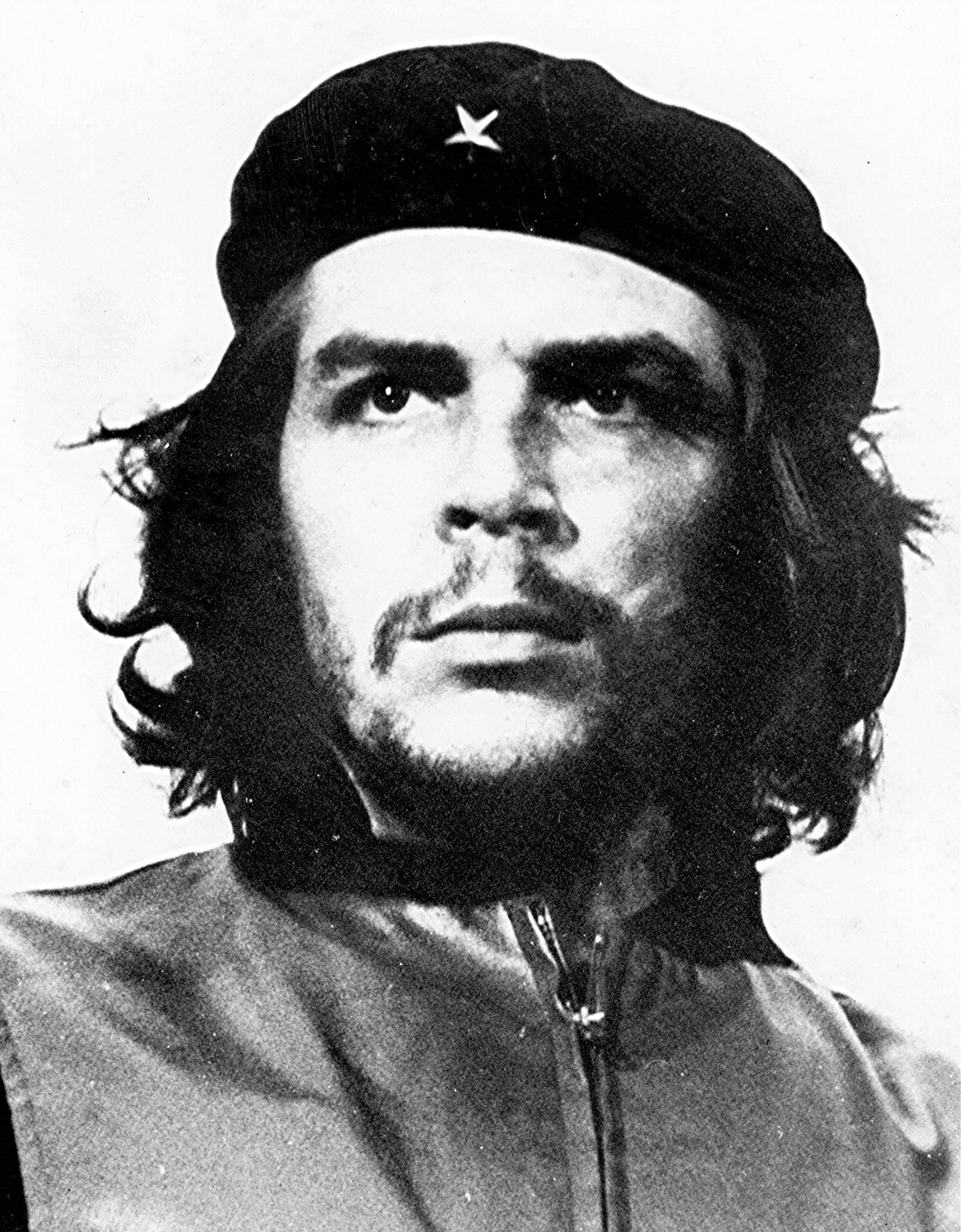 Che Guevara By Alberto Korda (Museo Che Guevara, Havana Cuba) [Public domain], via Wikimedia Commons http://commons.wikimedia.org/wiki/File%3ACheHigh.jpg