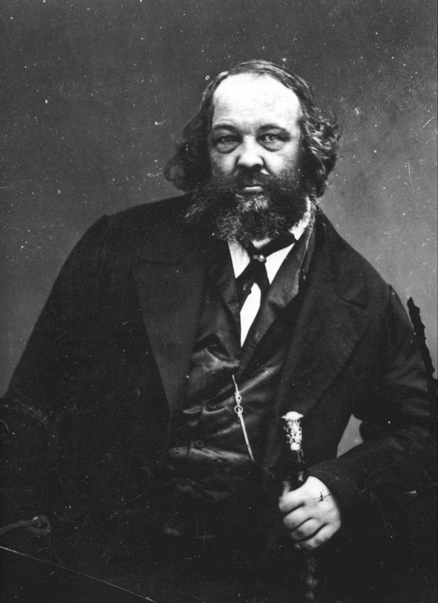 michail bakunin Photographer: Nadar [Public domain], via Wikimedia Commons http://commons.wikimedia.org/wiki/File%3AF%C3%A9lix_Nadar_1820-1910_portraits_Makhail_Bakounine.jpg