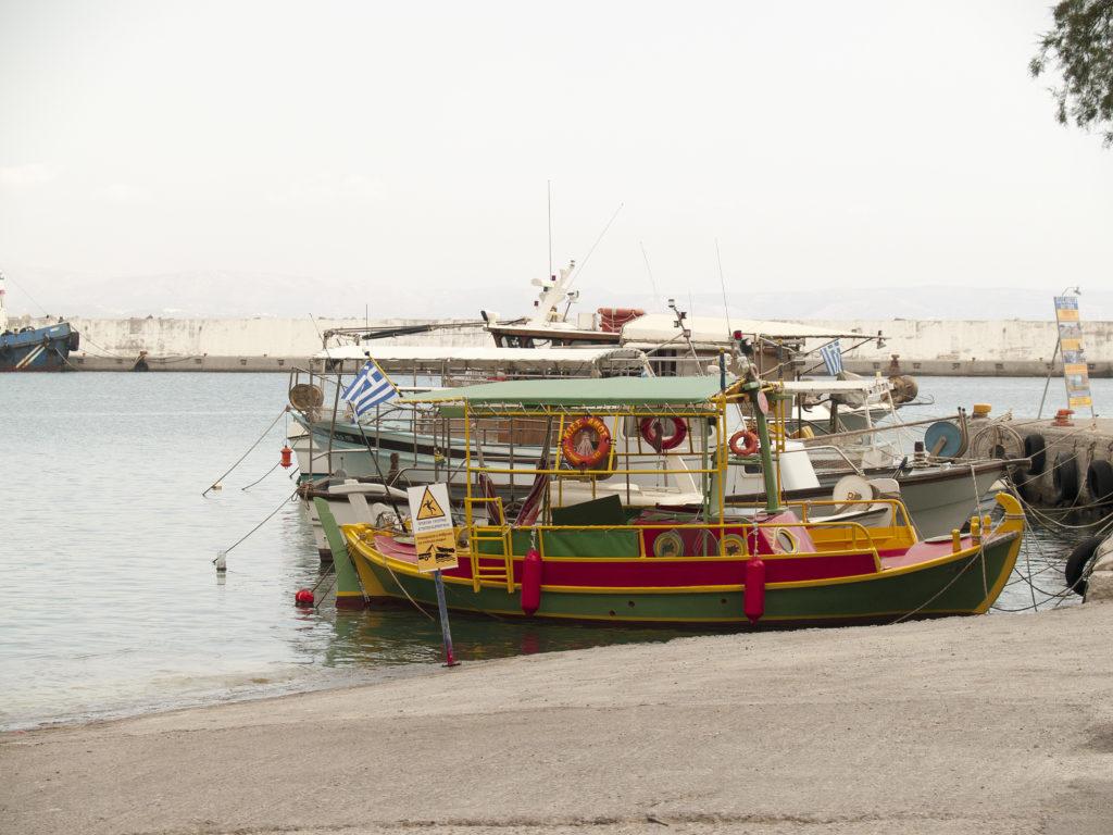Agia Galini Hafen